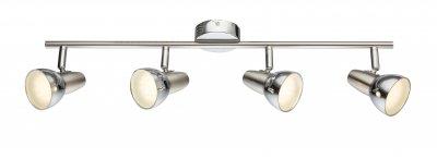 Спот Globo 56116-4 CAPPUCCINOспоты 4 лампы<br>Спот Globo 56116-4 CAPPUCCINO отличается поворотной способностью регулировки светового потока и сделает Ваше помещение современным, стильным и запоминающимся! Наиболее функционально и эстетически привлекательно модель будет смотреться в гостиной, зале, холле или другой комнате. А в комплекте с люстрой, бра или торшером из этой же коллекции сделает интерьер по-дизайнерски профессиональным и законченным.