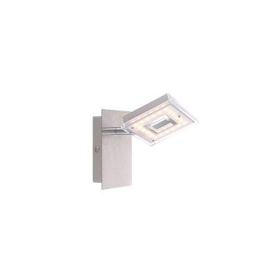 Светильник Globo 56138-1Одиночные<br>Светильники-споты – это оригинальные изделия с современным дизайном. Они позволяют не ограничивать свою фантазию при выборе освещения для интерьера. Такие модели обеспечивают достаточно качественный свет. Благодаря компактным размерам Вы можете использовать несколько спотов для одного помещения.  Интернет-магазин «Светодом» предлагает необычный светильник-спот Globo 56138-1 по привлекательной цене. Эта модель станет отличным дополнением к люстре, выполненной в том же стиле. Перед оформлением заказа изучите характеристики изделия.  Купить светильник-спот Globo 56138-1 в нашем онлайн-магазине Вы можете либо с помощью формы на сайте, либо по указанным выше телефонам. Обратите внимание, что у нас склады не только в Москве и Екатеринбурге, но и других городах России.<br><br>S освещ. до, м2: 2<br>Тип цоколя: LED<br>Цвет арматуры: серебристый<br>Количество ламп: 1<br>Ширина, мм: 150<br>Длина, мм: 90<br>Высота, мм: 130<br>MAX мощность ламп, Вт: 4,2