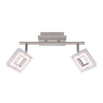 Светильник Globo 56138-2Двойные<br>Светильники-споты – это оригинальные изделия с современным дизайном. Они позволяют не ограничивать свою фантазию при выборе освещения для интерьера. Такие модели обеспечивают достаточно качественный свет. Благодаря компактным размерам Вы можете использовать несколько спотов для одного помещения.  Интернет-магазин «Светодом» предлагает необычный светильник-спот Globo 56138-2 по привлекательной цене. Эта модель станет отличным дополнением к люстре, выполненной в том же стиле. Перед оформлением заказа изучите характеристики изделия.  Купить светильник-спот Globo 56138-2 в нашем онлайн-магазине Вы можете либо с помощью формы на сайте, либо по указанным выше телефонам. Обратите внимание, что у нас склады не только в Москве и Екатеринбурге, но и других городах России.<br><br>S освещ. до, м2: 4<br>Тип цоколя: LED<br>Цвет арматуры: серебристый<br>Количество ламп: 2<br>Ширина, мм: 175<br>Длина, мм: 300<br>Высота, мм: 175<br>MAX мощность ламп, Вт: 4,2