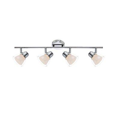Светильник Globo 56182-4 NashvilleС 4 лампами<br>Светильники-споты – это оригинальные изделия с современным дизайном. Они позволяют не ограничивать свою фантазию при выборе освещения для интерьера. Такие модели обеспечивают достаточно качественный свет. Благодаря компактным размерам Вы можете использовать несколько спотов для одного помещения.  Интернет-магазин «Светодом» предлагает необычный светильник-спот Globo 56182-4 по привлекательной цене. Эта модель станет отличным дополнением к люстре, выполненной в том же стиле. Перед оформлением заказа изучите характеристики изделия.  Купить светильник-спот Globo 56182-4 в нашем онлайн-магазине Вы можете либо с помощью формы на сайте, либо по указанным выше телефонам. Обратите внимание, что у нас склады не только в Москве и Екатеринбурге, но и других городах России.<br><br>S освещ. до, м2: 7<br>Цветовая t, К: 3000<br>Тип лампы: накаливания / энергосберегающая / светодиодная<br>Тип цоколя: LED<br>Цвет арматуры: серебристый<br>Количество ламп: 4<br>Диаметр, мм мм: 690<br>Высота, мм: 150<br>Поверхность арматуры: глянцевый<br>MAX мощность ламп, Вт: 4<br>Общая мощность, Вт: 16