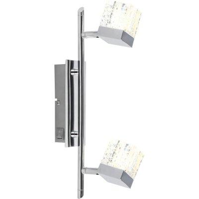 Светильник Globo 56193-2 AnkaraДвойные<br>Светильники-споты – это оригинальные изделия с современным дизайном. Они позволяют не ограничивать свою фантазию при выборе освещения для интерьера. Такие модели обеспечивают достаточно качественный свет. Благодаря компактным размерам Вы можете использовать несколько спотов для одного помещения.  Интернет-магазин «Светодом» предлагает необычный светильник-спот Globo 56193-2 по привлекательной цене. Эта модель станет отличным дополнением к люстре, выполненной в том же стиле. Перед оформлением заказа изучите характеристики изделия.  Купить светильник-спот Globo 56193-2 в нашем онлайн-магазине Вы можете либо с помощью формы на сайте, либо по указанным выше телефонам. Обратите внимание, что у нас склады не только в Москве и Екатеринбурге, но и других городах России.<br><br>S освещ. до, м2: 3<br>Цветовая t, К: 3000K<br>Тип лампы: LED - светодиодная<br>Тип цоколя: LED<br>Количество ламп: 2<br>Ширина, мм: 350<br>MAX мощность ламп, Вт: 5<br>Длина, мм: 350<br>Расстояние от стены, мм: 150<br>Высота, мм: 150<br>Оттенок (цвет): белый<br>Цвет арматуры: серый