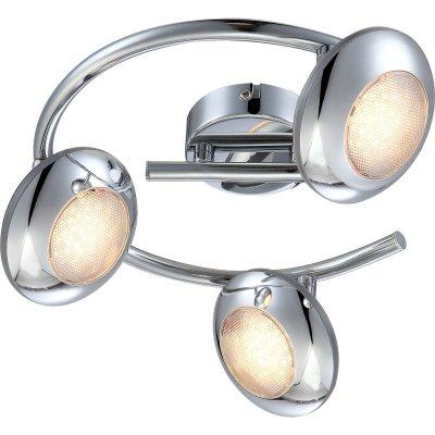 Светильник светодиодный Globo 56217-3 GillesТройные<br>Светильники-споты – это оригинальные изделия с современным дизайном. Они позволяют не ограничивать свою фантазию при выборе освещения для интерьера. Такие модели обеспечивают достаточно качественный свет. Благодаря компактным размерам Вы можете использовать несколько спотов для одного помещения. <br>Интернет-магазин «Светодом» предлагает необычный светильник-спот Globo 56217-3 по привлекательной цене. Эта модель станет отличным дополнением к люстре, выполненной в том же стиле. Перед оформлением заказа изучите характеристики изделия. <br>Купить светильник-спот Globo 56217-3 в нашем онлайн-магазине Вы можете либо с помощью формы на сайте, либо по указанным выше телефонам. Обратите внимание, что у нас склады не только в Москве и Екатеринбурге, но и других городах России.<br><br>S освещ. до, м2: 1<br>Тип лампы: LED-светодиодная<br>Тип цоколя: LED<br>Количество ламп: 3<br>Ширина, мм: 250<br>MAX мощность ламп, Вт: 5<br>Длина, мм: 250<br>Высота, мм: 140<br>Цвет арматуры: серебристый