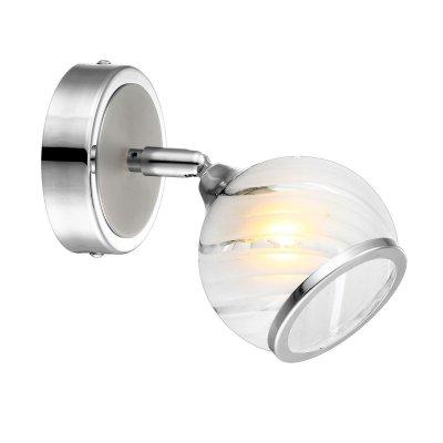 Светильник Globo 56568-1 AilaОдиночные<br>Светильники-споты – это оригинальные изделия с современным дизайном. Они позволяют не ограничивать свою фантазию при выборе освещения для интерьера. Такие модели обеспечивают достаточно качественный свет. Благодаря компактным размерам Вы можете использовать несколько спотов для одного помещения.  Интернет-магазин «Светодом» предлагает необычный светильник-спот Globo 56568-1 по привлекательной цене. Эта модель станет отличным дополнением к люстре, выполненной в том же стиле. Перед оформлением заказа изучите характеристики изделия.  Купить светильник-спот Globo 56568-1 в нашем онлайн-магазине Вы можете либо с помощью формы на сайте, либо по указанным выше телефонам. Обратите внимание, что у нас склады не только в Москве и Екатеринбурге, но и других городах России.<br><br>S освещ. до, м2: 2<br>Тип лампы: галогенная / LED-светодиодная<br>Тип цоколя: G9<br>Цвет арматуры: серебристый<br>Количество ламп: 1<br>Длина, мм: 100<br>Высота, мм: 165<br>MAX мощность ламп, Вт: 33