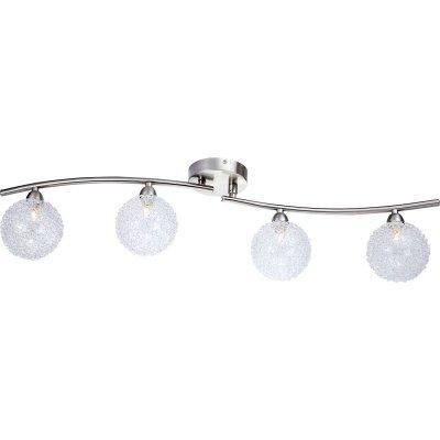 Люстра Globo 5662-4S New DesignС 4 лампами<br>Светильники-споты – это оригинальные изделия с современным дизайном. Они позволяют не ограничивать свою фантазию при выборе освещения для интерьера. Такие модели обеспечивают достаточно качественный свет. Благодаря компактным размерам Вы можете использовать несколько спотов для одного помещения.  Интернет-магазин «Светодом» предлагает необычный светильник-спот Globo 5662-4S по привлекательной цене. Эта модель станет отличным дополнением к люстре, выполненной в том же стиле. Перед оформлением заказа изучите характеристики изделия.  Купить светильник-спот Globo 5662-4S в нашем онлайн-магазине Вы можете либо с помощью формы на сайте, либо по указанным выше телефонам. Обратите внимание, что у нас склады не только в Москве и Екатеринбурге, но и других городах России.<br><br>Установка на натяжной потолок: Ограничено<br>S освещ. до, м2: 10<br>Крепление: Планка<br>Тип лампы: галогенная / LED-светодиодная<br>Тип цоколя: G9<br>Цвет арматуры: серый<br>Количество ламп: 4<br>Ширина, мм: 160<br>Диаметр, мм мм: 800<br>Длина, мм: 800<br>Высота, мм: 190<br>MAX мощность ламп, Вт: 33
