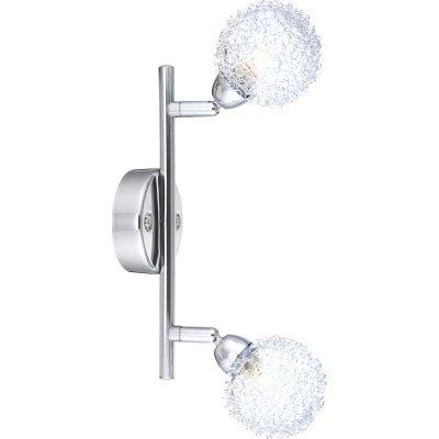 Светильник Globo 56624-2 OrinaДвойные<br>Светильники-споты – это оригинальные изделия с современным дизайном. Они позволяют не ограничивать свою фантазию при выборе освещения для интерьера. Такие модели обеспечивают достаточно качественный свет. Благодаря компактным размерам Вы можете использовать несколько спотов для одного помещения. <br>Интернет-магазин «Светодом» предлагает необычный светильник-спот Globo 56624-2 по привлекательной цене. Эта модель станет отличным дополнением к люстре, выполненной в том же стиле. Перед оформлением заказа изучите характеристики изделия. <br>Купить светильник-спот Globo 56624-2 в нашем онлайн-магазине Вы можете либо с помощью формы на сайте, либо по указанным выше телефонам. Обратите внимание, что мы предлагаем доставку не только по Москве и Екатеринбургу, но и всем остальным российским городам.<br><br>S освещ. до, м2: 4<br>Тип лампы: галогенная / LED-светодиодная<br>Тип цоколя: G9<br>Количество ламп: 2<br>Ширина, мм: 85<br>MAX мощность ламп, Вт: 33<br>Диаметр, мм мм: 85<br>Длина, мм: 250<br>Расстояние от стены, мм: 170<br>Высота, мм: 170<br>Оттенок (цвет): белый<br>Цвет арматуры: серебристый