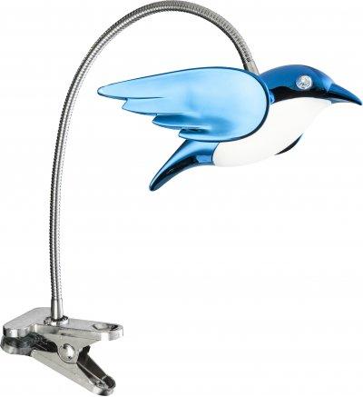 Настольная лампа Globo 56671-1KОжидается<br><br><br>Тип цоколя: LED<br>Цвет арматуры: голубой<br>Высота, мм: 400