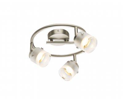 Спот Globo 56959-3 KARTHALAОжидается<br><br><br>Цветовая t, К: 3000<br>Тип цоколя: LED<br>Цвет арматуры: серебристый никель, серебристый хром<br>Количество ламп: 3<br>Диаметр, мм мм: 240<br>Высота, мм: 165<br>MAX мощность ламп, Вт: 15