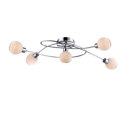 Люстра со светодиодными лампами Globo 56963-5 Sionyсовременные потолочные люстры модерн<br>Компания «Светодом» предлагает широкий ассортимент люстр от известных производителей. Представленные в нашем каталоге товары выполнены из современных материалов и обладают отличным качеством. Благодаря широкому ассортименту Вы сможете найти у нас люстру под любой интерьер. Мы предлагаем как классические варианты, так и современные модели, отличающиеся лаконичностью и простотой форм. <br>Стильная люстра Globo 56963-5 станет украшением любого дома. Эта модель от известного производителя не оставит равнодушным ценителей красивых и оригинальных предметов интерьера. Люстра Globo 56963-5 обеспечит равномерное распределение света по всей комнате. При выборе обратите внимание на характеристики, позволяющие приобрести наиболее подходящую модель. <br>Купить понравившуюся люстру по доступной цене Вы можете в интернет-магазине «Светодом».<br><br>Установка на натяжной потолок: Ограничено<br>S освещ. до, м2: 20<br>Крепление: Планка<br>Тип лампы: галогенная / LED-светодиодная<br>Тип цоколя: GU10 LED<br>Цвет арматуры: серебристый<br>Количество ламп: 5<br>Ширина, мм: 200<br>Длина, мм: 760<br>Высота, мм: 150<br>MAX мощность ламп, Вт: 4