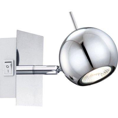 Светильник Globo 57881-1 Oberonодиночные споты<br>Светильники-споты – это оригинальные изделия с современным дизайном. Они позволяют не ограничивать свою фантазию при выборе освещения для интерьера. Такие модели обеспечивают достаточно качественный свет. Благодаря компактным размерам Вы можете использовать несколько спотов для одного помещения.  Интернет-магазин «Светодом» предлагает необычный светильник-спот Globo 57881-1 по привлекательной цене. Эта модель станет отличным дополнением к люстре, выполненной в том же стиле. Перед оформлением заказа изучите характеристики изделия.  Купить светильник-спот Globo 57881-1 в нашем онлайн-магазине Вы можете либо с помощью формы на сайте, либо по указанным выше телефонам. Обратите внимание, что у нас склады не только в Москве и Екатеринбурге, но и других городах России.<br><br>S освещ. до, м2: 3<br>Тип лампы: галогенная / LED-светодиодная<br>Тип цоколя: GU10<br>Цвет арматуры: серебристый<br>Количество ламп: 1<br>Ширина, мм: 100<br>Длина, мм: 100<br>Высота, мм: 100<br>MAX мощность ламп, Вт: 35