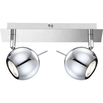 Светильник Globo 57881-2 OberonДвойные<br>Светильники-споты – это оригинальные изделия с современным дизайном. Они позволяют не ограничивать свою фантазию при выборе освещения для интерьера. Такие модели обеспечивают достаточно качественный свет. Благодаря компактным размерам Вы можете использовать несколько спотов для одного помещения. <br>Интернет-магазин «Светодом» предлагает необычный светильник-спот Globo 57881-2 по привлекательной цене. Эта модель станет отличным дополнением к люстре, выполненной в том же стиле. Перед оформлением заказа изучите характеристики изделия. <br>Купить светильник-спот Globo 57881-2 в нашем онлайн-магазине Вы можете либо с помощью формы на сайте, либо по указанным выше телефонам. Обратите внимание, что у нас склады не только в Москве и Екатеринбурге, но и других городах России.<br><br>S освещ. до, м2: 6<br>Тип лампы: галогенная / LED-светодиодная<br>Тип цоколя: GU10<br>Цвет арматуры: серебристый<br>Количество ламп: 2<br>Ширина, мм: 80<br>Длина, мм: 250<br>Высота, мм: 145<br>MAX мощность ламп, Вт: 35