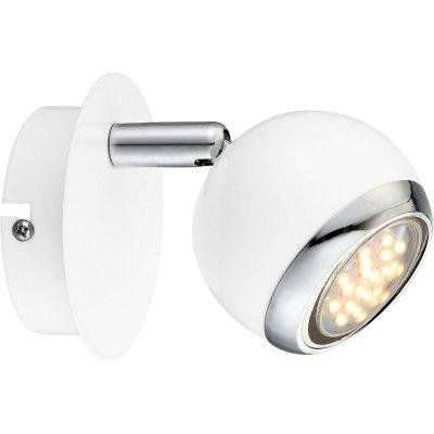 Светильник Globo 57882-1 OmanОдиночные<br>Светильники-споты – это оригинальные изделия с современным дизайном. Они позволяют не ограничивать свою фантазию при выборе освещения для интерьера. Такие модели обеспечивают достаточно качественный свет. Благодаря компактным размерам Вы можете использовать несколько спотов для одного помещения. <br>Интернет-магазин «Светодом» предлагает необычный светильник-спот Globo 57882-1 по привлекательной цене. Эта модель станет отличным дополнением к люстре, выполненной в том же стиле. Перед оформлением заказа изучите характеристики изделия. <br>Купить светильник-спот Globo 57882-1 в нашем онлайн-магазине Вы можете либо с помощью формы на сайте, либо по указанным выше телефонам. Обратите внимание, что у нас склады не только в Москве и Екатеринбурге, но и других городах России.<br><br>S освещ. до, м2: 2<br>Тип лампы: галогенная / LED-светодиодная<br>Тип цоколя: GU10 LED<br>Цвет арматуры: серебристый<br>Количество ламп: 1<br>Ширина, мм: 130<br>Длина, мм: 100<br>Высота, мм: 118<br>MAX мощность ламп, Вт: 3