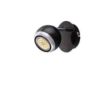 Светильник поворотный спот Globo 57884-1oОдиночные<br>Светильники-споты – это оригинальные изделия с современным дизайном. Они позволяют не ограничивать свою фантазию при выборе освещения для интерьера. Такие модели обеспечивают достаточно качественный свет. Благодаря компактным размерам Вы можете использовать несколько спотов для одного помещения.  Интернет-магазин «Светодом» предлагает необычный светильник-спот Globo 57884-1O по привлекательной цене. Эта модель станет отличным дополнением к люстре, выполненной в том же стиле. Перед оформлением заказа изучите характеристики изделия.  Купить светильник-спот Globo 57884-1O в нашем онлайн-магазине Вы можете либо с помощью формы на сайте, либо по указанным выше телефонам. Обратите внимание, что у нас склады не только в Москве и Екатеринбурге, но и других городах России.<br><br>S освещ. до, м2: 3<br>Тип лампы: LED<br>Тип цоколя: GU10<br>Цвет арматуры: черный<br>Количество ламп: 1<br>Ширина, мм: 100<br>Высота, мм: 118<br>MAX мощность ламп, Вт: 50