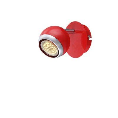 Светильник поворотный спот Globo 57885-1oОдиночные<br>Светильники-споты – это оригинальные изделия с современным дизайном. Они позволяют не ограничивать свою фантазию при выборе освещения для интерьера. Такие модели обеспечивают достаточно качественный свет. Благодаря компактным размерам Вы можете использовать несколько спотов для одного помещения.  Интернет-магазин «Светодом» предлагает необычный светильник-спот Globo 57885-1O по привлекательной цене. Эта модель станет отличным дополнением к люстре, выполненной в том же стиле. Перед оформлением заказа изучите характеристики изделия.  Купить светильник-спот Globo 57885-1O в нашем онлайн-магазине Вы можете либо с помощью формы на сайте, либо по указанным выше телефонам. Обратите внимание, что мы предлагаем доставку не только по Москве и Екатеринбургу, но и всем остальным российским городам.<br><br>Тип лампы: галогенная/LED<br>Тип цоколя: GU10<br>Количество ламп: 1<br>Ширина, мм: 100<br>MAX мощность ламп, Вт: 50<br>Высота, мм: 118<br>Цвет арматуры: красный