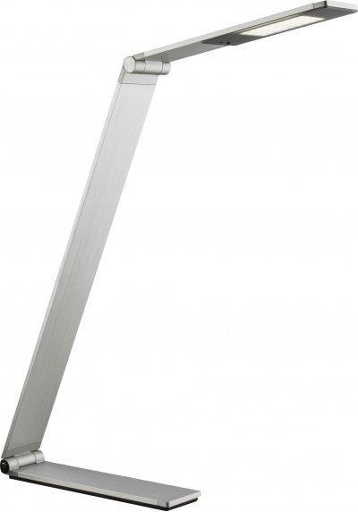 Настольная лампа Globo 582300TОжидается<br><br><br>Тип цоколя: LED<br>Высота, мм: 225<br>Цвет арматуры: серебро