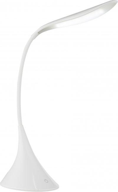 Настольная лампа Globo 58254WОжидается<br><br><br>Тип цоколя: LED<br>Цвет арматуры: белый<br>Ширина, мм: 335<br>Высота, мм: 115