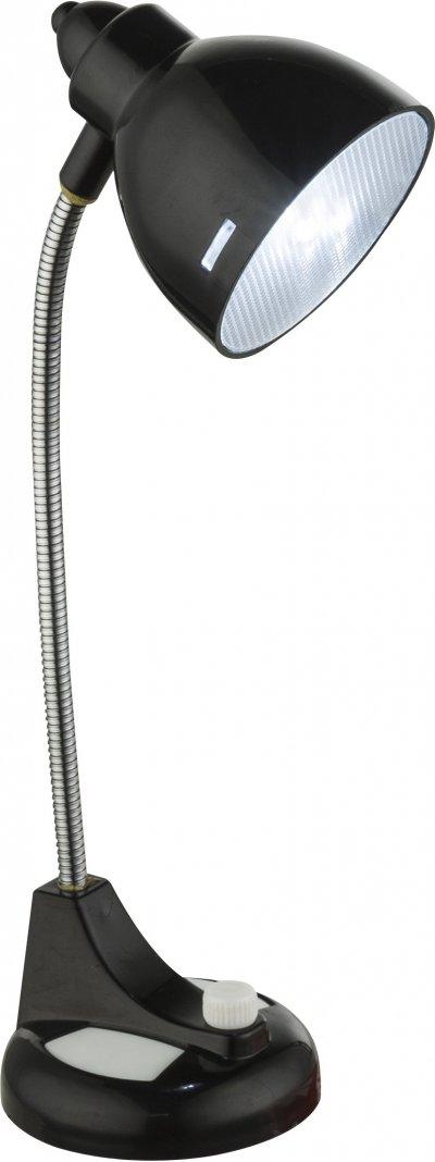 Настольная лампа Globo 58261SОжидается<br><br><br>Тип цоколя: LED<br>Высота, мм: 62<br>Цвет арматуры: черный
