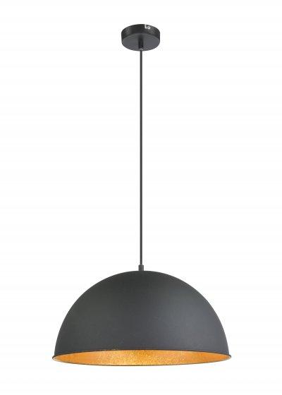 Подвес Globo 58305H LENNОжидается<br><br><br>Тип цоколя: E27<br>Цвет арматуры: черный, золотой<br>Количество ламп: 1<br>Диаметр, мм мм: 410<br>Высота, мм: 1200<br>MAX мощность ламп, Вт: 60