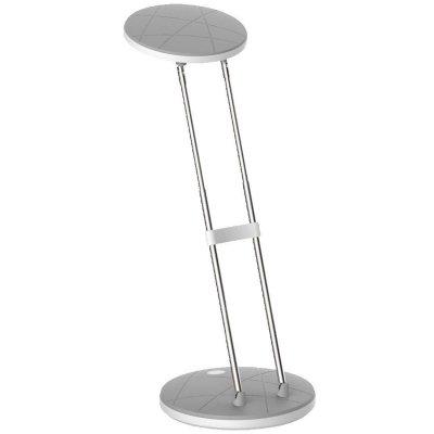 Настольная лампа Globo 58384Светодиодные<br>Настольная лампа – это не просто источник дополнительного освещения, но и оригинальный элемент декора. Его можно установить в спальне, гостиной, кабинете и других комнатах. Интернет-магазин «Светодом» предлагает настольные лампы разных стилей по доступным ценам. Благодаря большому ассортименту Вы обязательно найдете в нашем каталоге именно ту модель, которую искали.   Настольная лампа Globo 58384 – прекрасный вариант для завершения интерьера. Ее можно включить одновременно с люстрой для более яркого освещения или без нее для создания уютной атмосферы, настраивающей на отдых.   Купить настольную лампу Globo 58384 Вы можете с помощью виртуальной «Корзины» или по контактным номерам, указанным на сайте.<br><br>Тип цоколя: LED<br>Цвет арматуры: серый<br>Количество ламп: 1<br>Высота, мм: 480<br>MAX мощность ламп, Вт: 2,5