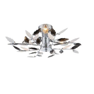 Светильник потолочный Globo 63101-3 VIDAПотолочные<br><br><br>Установка на натяжной потолок: Ограничено<br>S освещ. до, м2: 6<br>Крепление: Планка<br>Тип товара: Светильник потолочный<br>Скидка, %: 21<br>Тип цоколя: E14<br>Количество ламп: 3<br>MAX мощность ламп, Вт: 40<br>Диаметр, мм мм: 400<br>Высота, мм: 145<br>Цвет арматуры: серебристый