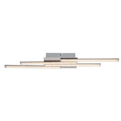 Светильник потолочный Globo 67003-14 ARTAXПотолочные<br>Компания «Светодом» предлагает широкий ассортимент люстр от известных производителей. Представленные в нашем каталоге товары выполнены из современных материалов и обладают отличным качеством. Благодаря широкому ассортименту Вы сможете найти у нас люстру под любой интерьер. Мы предлагаем как классические варианты, так и современные модели, отличающиеся лаконичностью и простотой форм.  Стильная люстра Globo 67003-14 станет украшением любого дома. Эта модель от известного производителя не оставит равнодушным ценителей красивых и оригинальных предметов интерьера. Люстра Globo 67003-14 обеспечит равномерное распределение света по всей комнате. При выборе обратите внимание на характеристики, позволяющие приобрести наиболее подходящую модель. Купить понравившуюся люстру по доступной цене Вы можете в интернет-магазине «Светодом». Мы предлагаем доставку не только по Москве и Екатеринбурге, но и по всей России.<br><br>Установка на натяжной потолок: Да<br>S освещ. до, м2: 1<br>Крепление: Планка<br>Тип товара: Светильник потолочный<br>Скидка, %: 15<br>Тип цоколя: LED<br>Количество ламп: 1<br>Ширина, мм: 580<br>MAX мощность ламп, Вт: 14<br>Высота, мм: 100<br>Цвет арматуры: серебристый