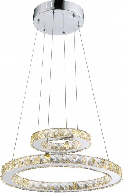 Светильник подвесной Globo 67037-24AОжидается<br><br><br>Тип цоколя: LED<br>Диаметр, мм мм: 400<br>Высота, мм: 1500<br>Цвет арматуры: хром серебристый