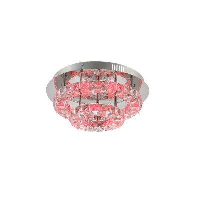 Светильник потолочный Globo 67049-36 CALISAПотолочные<br>Компания «Светодом» предлагает широкий ассортимент люстр от известных производителей. Представленные в нашем каталоге товары выполнены из современных материалов и обладают отличным качеством. Благодаря широкому ассортименту Вы сможете найти у нас люстру под любой интерьер. Мы предлагаем как классические варианты, так и современные модели, отличающиеся лаконичностью и простотой форм.  Стильная люстра Globo 67049-36 станет украшением любого дома. Эта модель от известного производителя не оставит равнодушным ценителей красивых и оригинальных предметов интерьера. Люстра Globo 67049-36 обеспечит равномерное распределение света по всей комнате. При выборе обратите внимание на характеристики, позволяющие приобрести наиболее подходящую модель. Купить понравившуюся люстру по доступной цене Вы можете в интернет-магазине «Светодом».<br><br>Установка на натяжной потолок: Да<br>S освещ. до, м2: 10<br>Тип цоколя: LED<br>Цвет арматуры: серебристый хром<br>Количество ламп: 1<br>Диаметр, мм мм: 420<br>Высота, мм: 170<br>MAX мощность ламп, Вт: 24