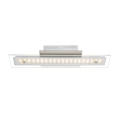 Светильник Globo 67804-8DДлинные<br>Настенно-потолочные светильники – это универсальные осветительные варианты, которые подходят для вертикального и горизонтального монтажа. В интернет-магазине «Светодом» Вы можете приобрести подобные модели по выгодной стоимости. В нашем каталоге представлены как бюджетные варианты, так и эксклюзивные изделия от производителей, которые уже давно заслужили доверие дизайнеров и простых покупателей.  Настенно-потолочный светильник Globo 67804-8D станет прекрасным дополнением к основному освещению. Благодаря качественному исполнению и применению современных технологий при производстве эта модель будет радовать Вас своим привлекательным внешним видом долгое время. Приобрести настенно-потолочный светильник Globo 67804-8D можно, находясь в любой точке России.<br><br>S освещ. до, м2: 3<br>Тип цоколя: LED<br>Цвет арматуры: серебристый<br>Количество ламп: 1<br>Ширина, мм: 65<br>Длина, мм: 100<br>Высота, мм: 400<br>MAX мощность ламп, Вт: 8