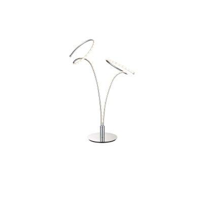 Настольная лампа Globo 67814T REBELСовременные<br>Настольная лампа – это не просто источник дополнительного освещения, но и оригинальный элемент декора. Его можно установить в спальне, гостиной, кабинете и других комнатах. Интернет-магазин «Светодом» предлагает настольные лампы разных стилей по доступным ценам. Благодаря большому ассортименту Вы обязательно найдете в нашем каталоге именно ту модель, которую искали.   Настольная лампа Globo 67814T – прекрасный вариант для завершения интерьера. Ее можно включить одновременно с люстрой для более яркого освещения или без нее для создания уютной атмосферы, настраивающей на отдых.   Купить настольную лампу Globo 67814T Вы можете с помощью виртуальной «Корзины» или по контактным номерам, указанным на сайте.<br><br>Тип цоколя: LED<br>Цвет арматуры: серебристый хром<br>Количество ламп: 1<br>Ширина, мм: 300<br>Высота, мм: 490<br>MAX мощность ламп, Вт: 10