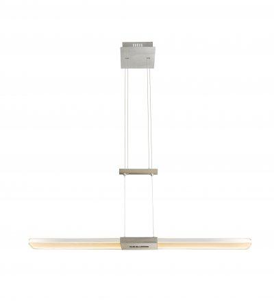 Подвес Globo 68156-30 YASURОжидается<br><br><br>Цветовая t, К: 3000-6000<br>Тип цоколя: LED<br>Цвет арматуры: серебристый никель<br>Количество ламп: 1<br>Ширина, мм: 170<br>Длина, мм: 900<br>Высота, мм: 950-1600<br>MAX мощность ламп, Вт: 30