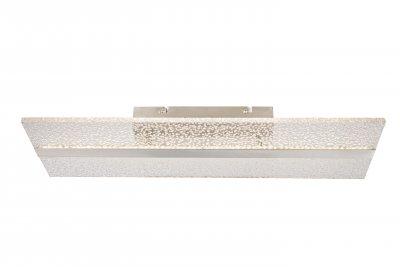Светильник потолочный Globo 68193D KLAUSОжидается<br><br><br>Цветовая t, К: 4000<br>Тип цоколя: LED<br>Цвет арматуры: серебристый никель<br>Количество ламп: 1<br>Ширина, мм: 205<br>Длина, мм: 600<br>Высота, мм: 70<br>MAX мощность ламп, Вт: 24