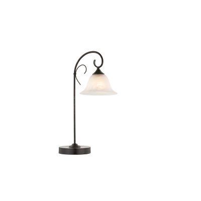 Настольная лампа Globo 68410-1t ARIESСовременные настольные лампы модерн<br>Настольная лампа – это не просто источник дополнительного освещения, но и оригинальный элемент декора. Его можно установить в спальне, гостиной, кабинете и других комнатах. Интернет-магазин «Светодом» предлагает настольные лампы разных стилей по доступным ценам. Благодаря большому ассортименту Вы обязательно найдете в нашем каталоге именно ту модель, которую искали.   Настольная лампа Globo 68410-1T – прекрасный вариант для завершения интерьера. Ее можно включить одновременно с люстрой для более яркого освещения или без нее для создания уютной атмосферы, настраивающей на отдых.   Купить настольную лампу Globo 68410-1T Вы можете с помощью виртуальной «Корзины» или по контактным номерам, указанным на сайте.<br><br>Тип цоколя: E27<br>Цвет арматуры: коричневый<br>Количество ламп: 1<br>Длина, мм: 330<br>Высота, мм: 520<br>MAX мощность ламп, Вт: 60