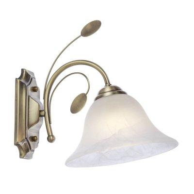 Светильник настенный Globo 69007-1WФлористика<br><br><br>Тип цоколя: E27<br>Цвет арматуры: бронзовый<br>Количество ламп: 1<br>Ширина, мм: 190<br>Высота, мм: 255<br>MAX мощность ламп, Вт: 60