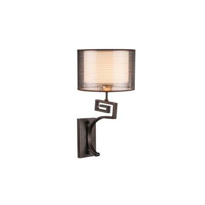 Светильник настенный Globo 69009-1Wсовременные бра модерн<br><br><br>Тип цоколя: E14<br>Цвет арматуры: бронзовый античный<br>Количество ламп: 1<br>Ширина, мм: 250<br>Высота, мм: 450<br>MAX мощность ламп, Вт: 40