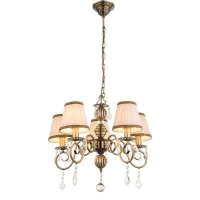 Светильник подвесной Globo 69010-5HПодвесные<br><br><br>Установка на натяжной потолок: Да<br>S освещ. до, м2: 15<br>Крепление: Крюк<br>Тип товара: Светильник подвесной<br>Скидка, %: 21<br>Тип лампы: Накаливания / энергосбережения / светодиодная<br>Тип цоколя: E14<br>Количество ламп: 5<br>MAX мощность ламп, Вт: 60<br>Диаметр, мм мм: 560<br>Высота, мм: 1070<br>Цвет арматуры: бронзовый