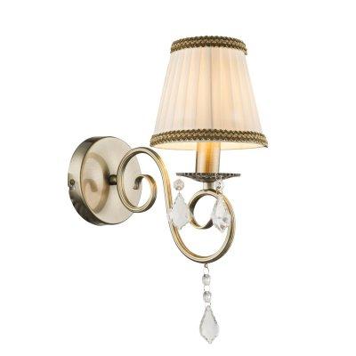 Светильник настенный Globo 69010WКлассика<br><br><br>Тип лампы: Накаливания / энергосбережения / светодиодная<br>Тип цоколя: E14<br>Количество ламп: 1<br>Ширина, мм: 140<br>MAX мощность ламп, Вт: 60<br>Высота, мм: 370<br>Цвет арматуры: бронзовый