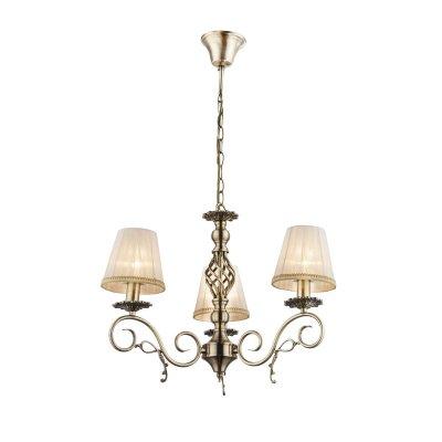 Светильник подвесной Globo 69011-3hПодвесные<br><br><br>Установка на натяжной потолок: Да<br>S освещ. до, м2: 9<br>Крепление: Крюк<br>Тип товара: Светильник подвесной<br>Скидка, %: 21<br>Тип цоколя: E14<br>Количество ламп: 3<br>MAX мощность ламп, Вт: 60<br>Диаметр, мм мм: 590<br>Высота, мм: 1000<br>Цвет арматуры: бронзовый