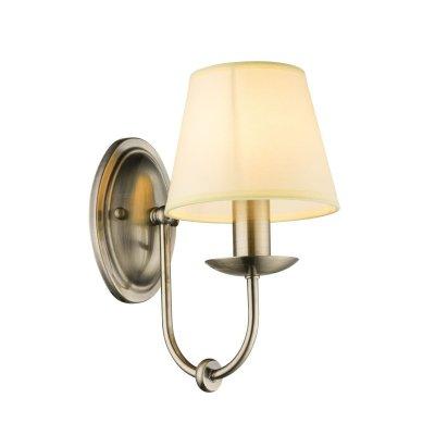 Светильник настенный Globo 69026WКлассические<br><br><br>Тип цоколя: E14<br>Цвет арматуры: бронзовый<br>Количество ламп: 1<br>Ширина, мм: 150<br>Высота, мм: 270<br>MAX мощность ламп, Вт: 60