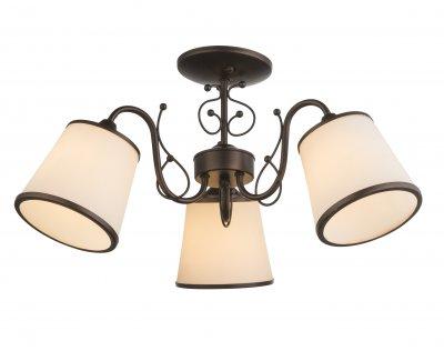 Люстра потолочная Globo 69035-3D BARUОжидается<br><br><br>Тип цоколя: E27<br>Цвет арматуры: кофейный, золотойй<br>Количество ламп: 3<br>Диаметр, мм мм: 550<br>Высота, мм: 270<br>MAX мощность ламп, Вт: 180