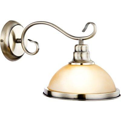 Светильник бра Globo 6905-1W SassariРустика<br><br><br>S освещ. до, м2: 4<br>Тип лампы: накаливания / энергосбережения / LED-светодиодная<br>Тип цоколя: E27<br>Цвет арматуры: бронзовый<br>Количество ламп: 1<br>Ширина, мм: 320<br>Длина, мм: 300<br>Высота, мм: 215<br>MAX мощность ламп, Вт: 60