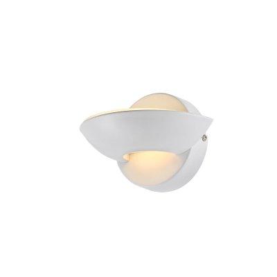 Светильник Globo 76003Современные<br><br><br>Тип цоколя: LED<br>Цвет арматуры: белый<br>Количество ламп: 1<br>Ширина, мм: 115<br>Длина, мм: 165<br>Высота, мм: 110<br>MAX мощность ламп, Вт: 3