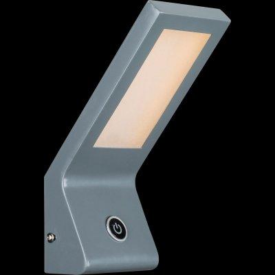 Светильник настенный бра Globo 78305Хай-тек<br><br><br>Тип цоколя: LED<br>Цвет арматуры: серый<br>Количество ламп: 1<br>MAX мощность ламп, Вт: 6