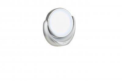 Зеркало Globo 84026 TOWADAОжидается<br><br><br>Тип цоколя: LED<br>Цвет арматуры: серебро<br>Количество ламп: 1<br>Ширина, мм: 190<br>Глубина, мм: 190<br>Высота, мм: 95<br>MAX мощность ламп, Вт: 0,01