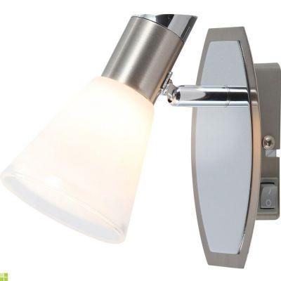 Светильник спот Globo 56800-1 BradieyОдиночные<br>Светильники-споты – это оригинальные изделия с современным дизайном. Они позволяют не ограничивать свою фантазию при выборе освещения для интерьера. Такие модели обеспечивают достаточно качественный свет. Благодаря компактным размерам Вы можете использовать несколько спотов для одного помещения. <br>Интернет-магазин «Светодом» предлагает необычный светильник-спот Globo 56800-1 по привлекательной цене. Эта модель станет отличным дополнением к люстре, выполненной в том же стиле. Перед оформлением заказа изучите характеристики изделия. <br>Купить светильник-спот Globo 56800-1 в нашем онлайн-магазине Вы можете либо с помощью формы на сайте, либо по указанным выше телефонам. Обратите внимание, что мы предлагаем доставку не только по Москве и Екатеринбургу, но и всем остальным российским городам.<br><br>S освещ. до, м2: 2<br>Тип лампы: галогенная / LED-светодиодная<br>Тип цоколя: G9<br>Количество ламп: 1<br>Ширина, мм: 80<br>MAX мощность ламп, Вт: 33<br>Длина, мм: 130<br>Расстояние от стены, мм: 130<br>Высота, мм: 140<br>Оттенок (цвет): белый<br>Цвет арматуры: серебристый