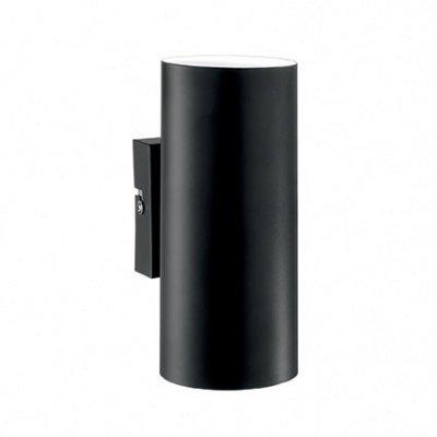 Купить Светильник бра Ideal Lux HOT AP2 NERO, Италия