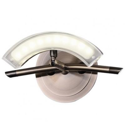 Настенный светильник Idlamp 391/1A LEDOldbronzeодиночные споты<br>Светильники-споты – это оригинальные изделия с современным дизайном. Они позволяют не ограничивать свою фантазию при выборе освещения для интерьера. Такие модели обеспечивают достаточно качественный свет. Благодаря компактным размерам Вы можете использовать несколько спотов для одного помещения. <br>Интернет-магазин «Светодом» предлагает необычный светильник-спот IDLamp 391/1A-LEDOldbronze по привлекательной цене. Эта модель станет отличным дополнением к люстре, выполненной в том же стиле. Перед оформлением заказа изучите характеристики изделия. <br>Купить светильник-спот IDLamp 391/1A-LEDOldbronze в нашем онлайн-магазине Вы можете либо с помощью формы на сайте, либо по указанным выше телефонам. Обратите внимание, что у нас склады не только в Москве и Екатеринбурге, но и других городах России.<br><br>S освещ. до, м2: 2<br>Тип лампы: LED - светодиодная<br>Тип цоколя: LED<br>Цвет арматуры: бронзовый<br>Количество ламп: 1<br>Ширина, мм: 140<br>Длина, мм: 200<br>Высота, мм: 140<br>Поверхность арматуры: матовый<br>MAX мощность ламп, Вт: 5