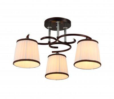 Люстра потолочная J-light 1153/3C NICOLEпотолочные люстры кантри стиля<br><br><br>Установка на натяжной потолок: да<br>S освещ. до, м2: 9<br>Тип лампы: Накаливания / энергосбережения / светодиодная<br>Тип цоколя: E27<br>Цвет арматуры: венге, серебристый хром<br>Количество ламп: 3<br>Ширина, мм: 480<br>Длина, мм: 480<br>Высота, мм: 375<br>MAX мощность ламп, Вт: 60