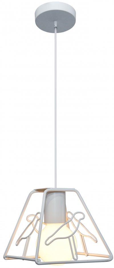 Подвес J-light 1281/1P COLIBRIодиночные подвесные светильники<br><br><br>S освещ. до, м2: 3<br>Крепление: планка<br>Тип цоколя: E27<br>Цвет арматуры: белый<br>Количество ламп: 1<br>Ширина, мм: 160<br>Высота полная, мм: 1450<br>Длина, мм: 160<br>Высота, мм: 200<br>MAX мощность ламп, Вт: 60
