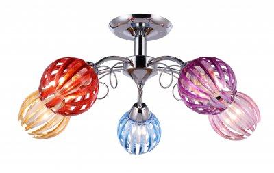 Люстра потолочная J-light 1286/5C NICKYсовременные потолочные люстры модерн<br><br><br>Установка на натяжной потолок: да<br>S освещ. до, м2: 12<br>Тип цоколя: E14<br>Цвет арматуры: серебристый хром<br>Количество ламп: 5<br>Ширина, мм: 555<br>Длина, мм: 555<br>Высота, мм: 260<br>MAX мощность ламп, Вт: 40