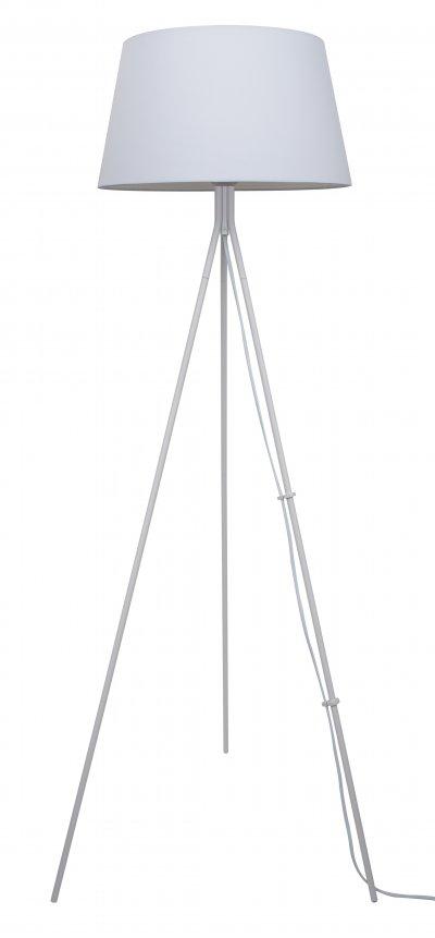 Торшер тренога J-light 1302/1F JAMYсовременные торшеры<br><br><br>S освещ. до, м2: 3<br>Тип цоколя: E27<br>Цвет арматуры: белый<br>Количество ламп: 1<br>Ширина, мм: 360<br>Длина, мм: 360<br>Высота, мм: 1220<br>MAX мощность ламп, Вт: 60