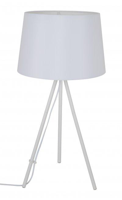Настольная лампа J-light 1302/1T JAMYСовременные настольные лампы модерн<br><br><br>S освещ. до, м2: 2<br>Тип цоколя: E27<br>Цвет арматуры: белый<br>Количество ламп: 1<br>Ширина, мм: 290<br>Длина, мм: 290<br>Высота, мм: 560<br>MAX мощность ламп, Вт: 40